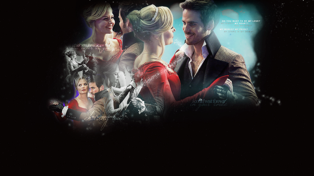 slowly chasing ... Once Upon A Time Wallpaper Captain Swan