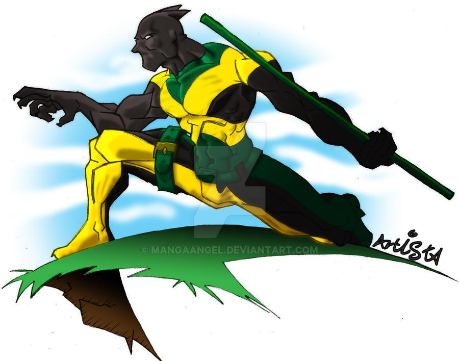 commission - Jamaican Jaguar by MangaAngel