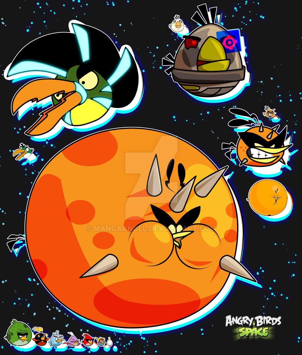 Angry Birds Space By MangaAngel