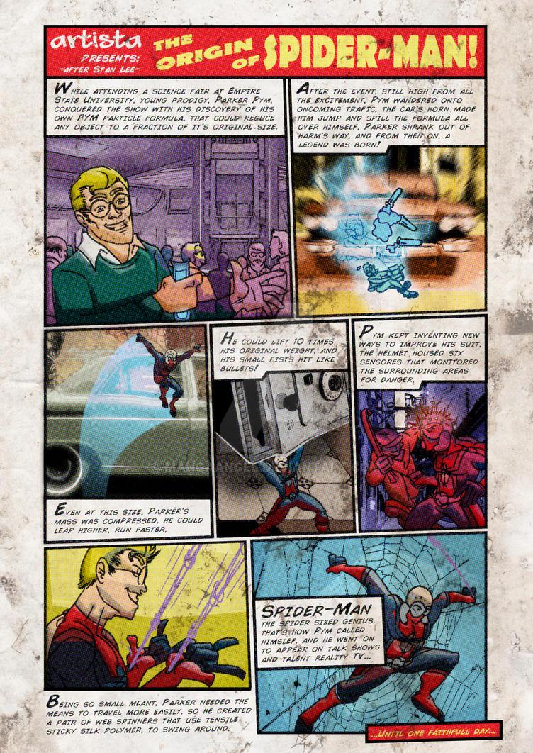 the Astonishing Spider-Man - Tales to Astonish by MangaAngel