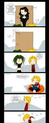 FMA comic??? O_o by Linaku
