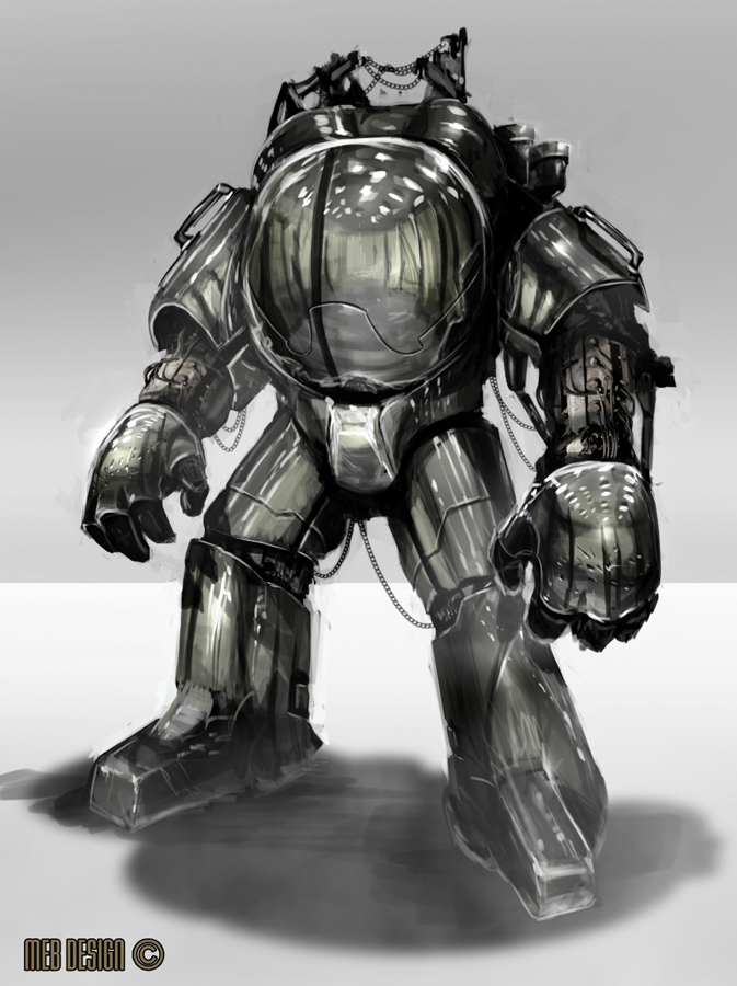 Mech suit by MarkButtonDesign