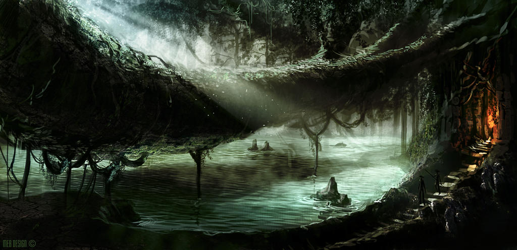 Swamp by MarkButtonDesign