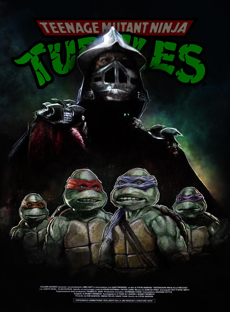 TMNT poster by MarkButtonDesign on DeviantArt