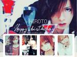 Hiroto's birthday