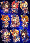 Love Live Star Set