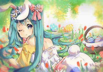 Miku Easter