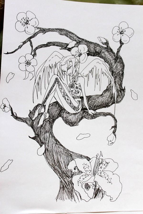 Tattoo Sketch By C Katt On Deviantart