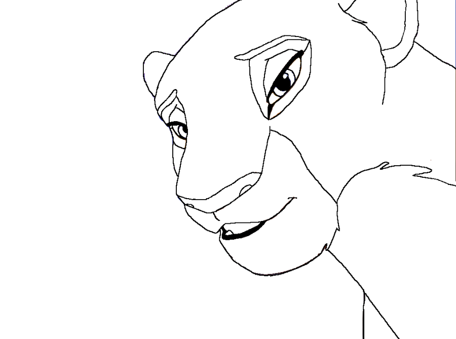 The Lion King Kiara Coloring Pages