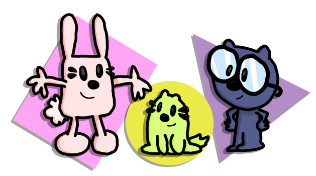 [LEAP DAY 2020] Flopsy, Mopsy, and Ted