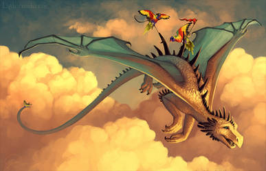 High Sky Piracy by cryslara
