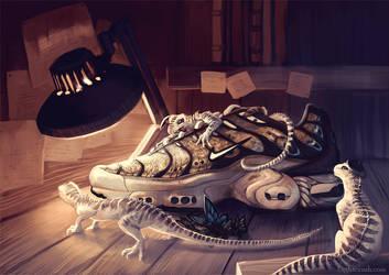 Foot Locker ArtPrize: Workshop by cryslara