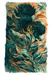 Black Summer Feathers - Glossy Black-Cockatoo
