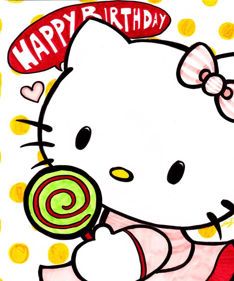 clipart hello kitty birthday - photo #16