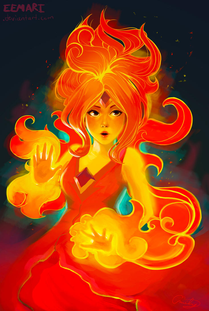 Flame Princess by Eemari