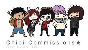 Chibi Commissions!