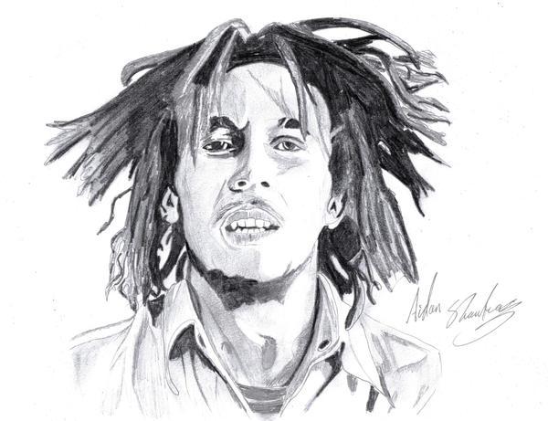 Bob Marley by aidan8500
