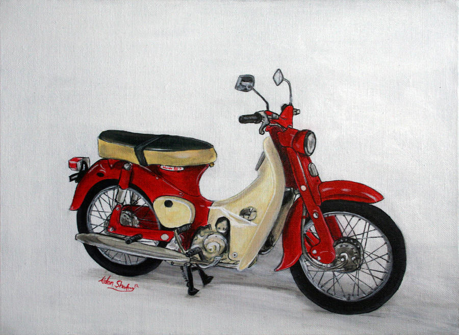 Honda 50 Super Cub By Aidan8500 On DeviantArt