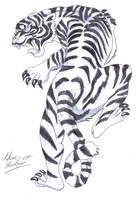 White Tiger by aidan8500