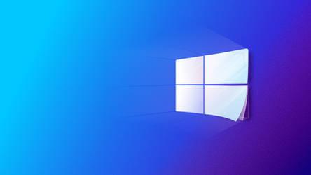 Fluent Windows 10 (BLUE)