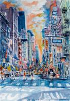 Cityscape of New York by kovacsannabrigitta
