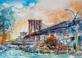 Brooklyn bridge by kovacsannabrigitta