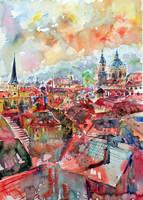 Prague by kovacsannabrigitta