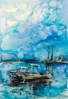 Harbour by kovacsannabrigitta
