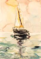 Sailboat by kovacsannabrigitta
