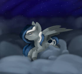 Stormy Night by oOSpottedtailOo