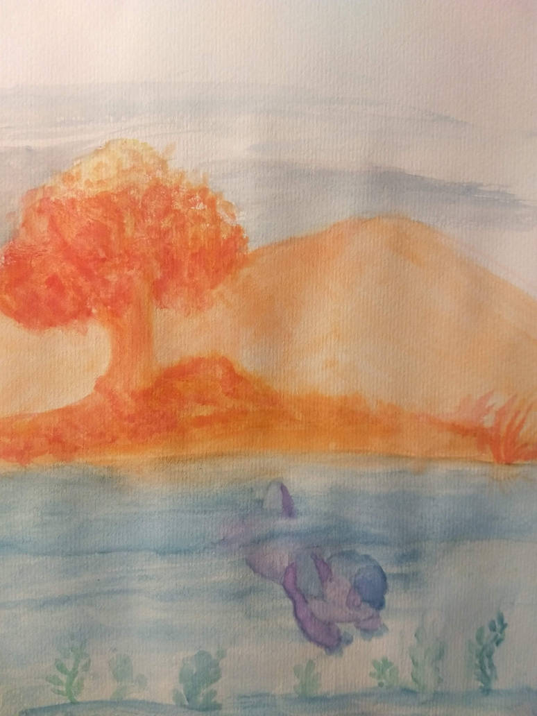 Stardew but watercolors