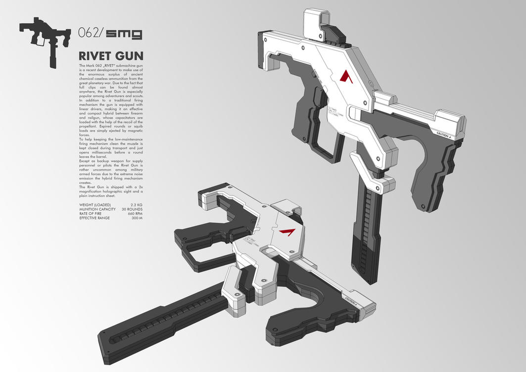 062/smg Rivet Gun by M-Vitzh