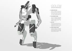 087/Heavy Infantry Mech GOLEM