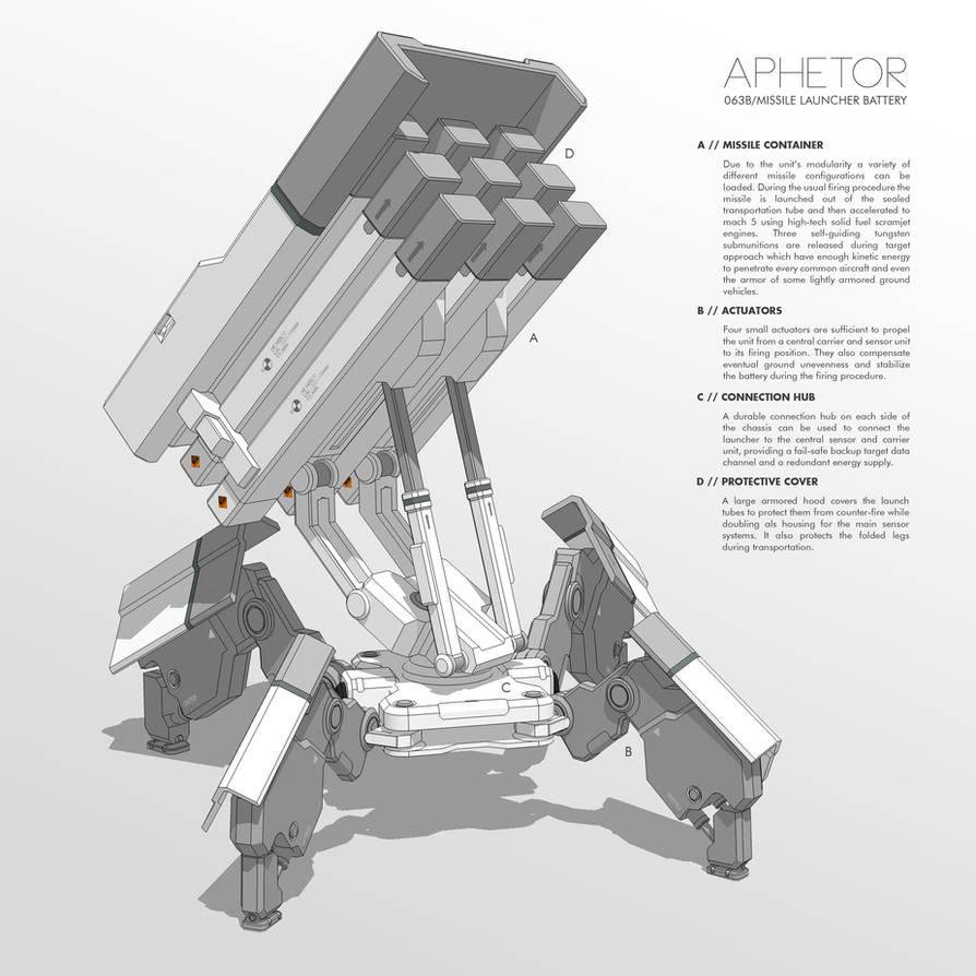 APHETOR Missile Launcher Battery