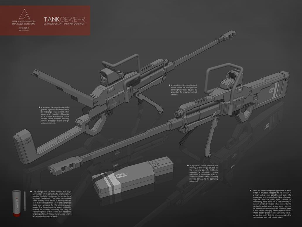 Tankgewehr 25 by M-Vitzh