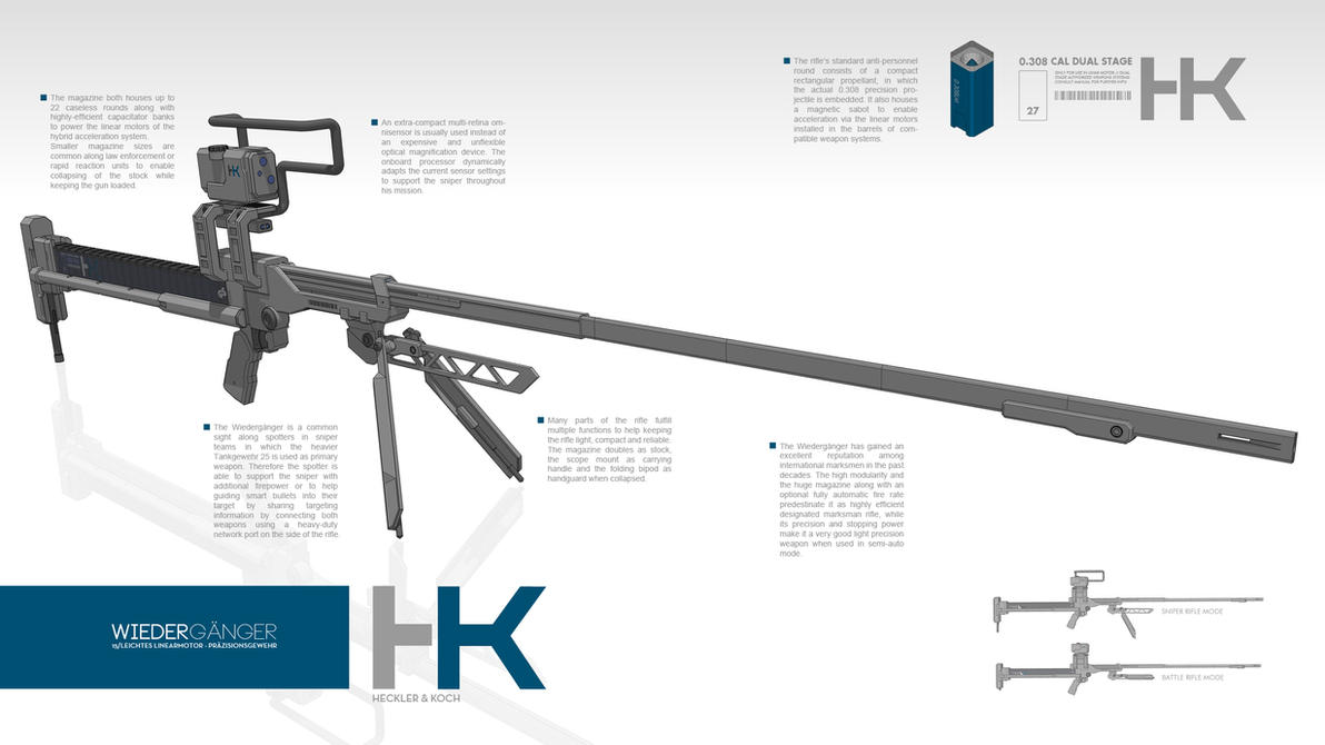 HK Wiedergaenger Precision Rifle by M-Vitzh
