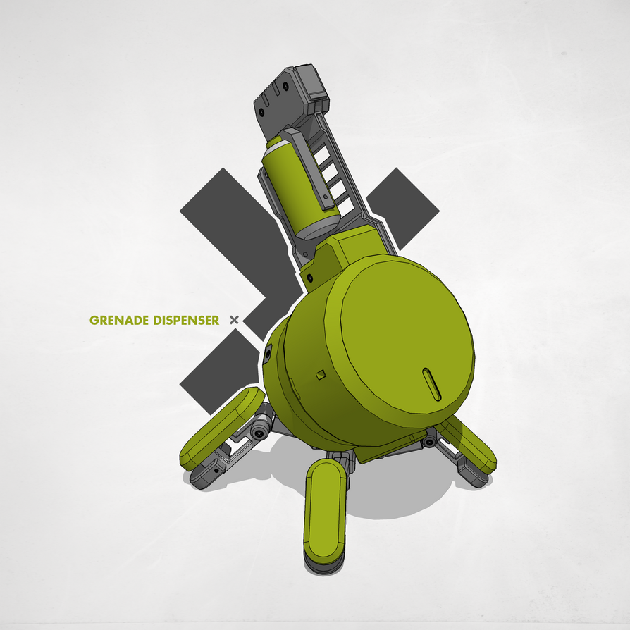 Grenade Dispenser by M-Vitzh