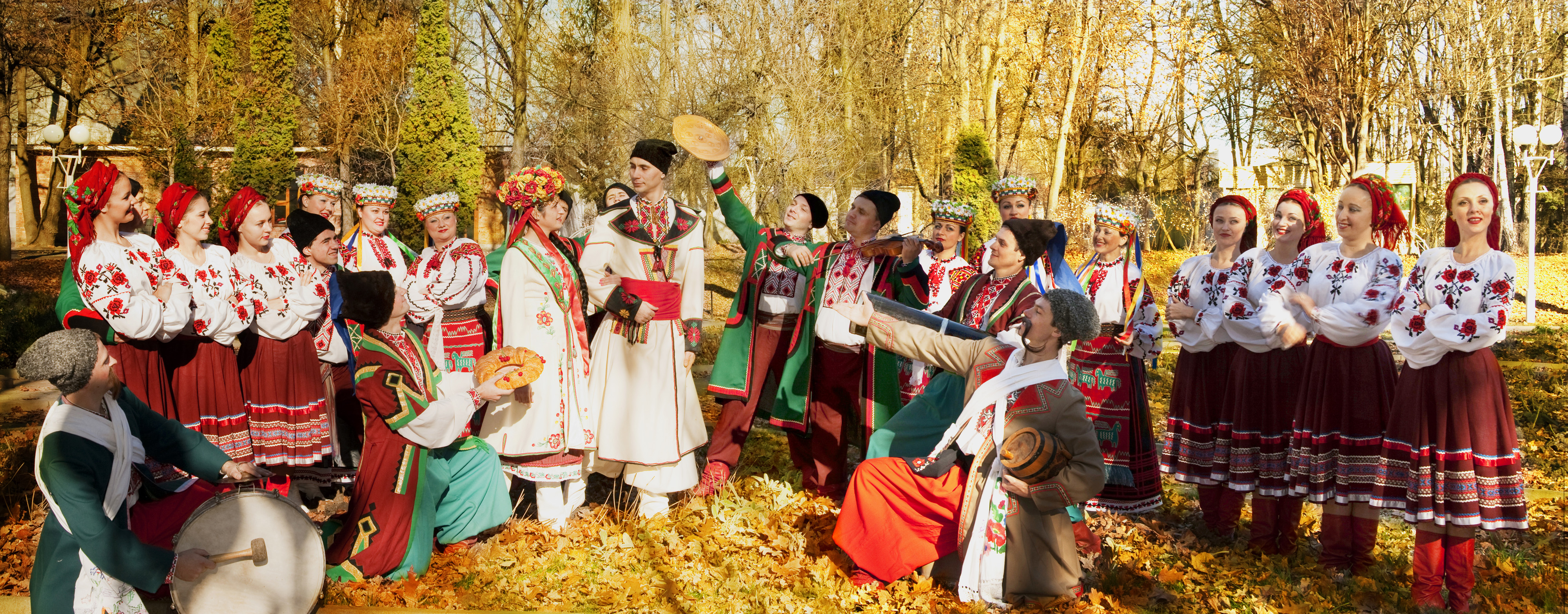 The Christmas ukrainian bride day