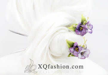 Flower Hairpieces