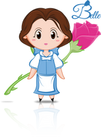 Belle Disney's Princess by CupcakeAmande
