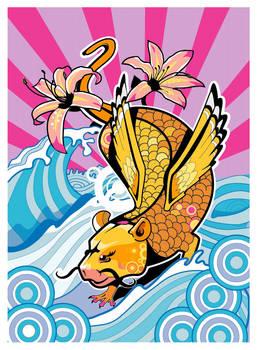 Flying rat fish