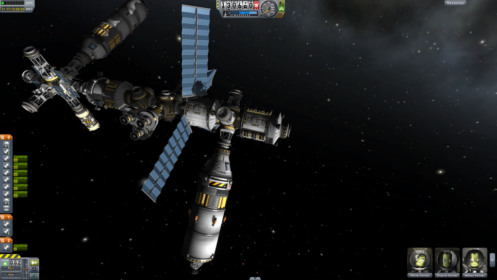 KSP: The Scales Sharps Class Space Station Core by ...