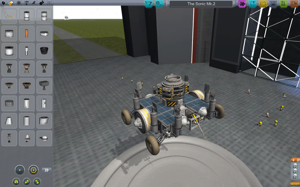Ksp The Sonic Mk 2 Class Rover By Fusiondax On Deviantart