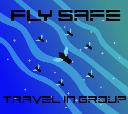 Fly Safe: Travel In Group