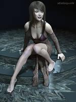 Fashion Model 3 by 3Dfantasyworld