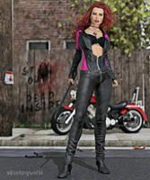 Cool Rider 4 by 3Dfantasyworld