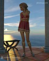 Noble Girl 2 by 3Dfantasyworld