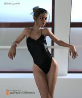 Ballerina Girl 4 by 3Dfantasyworld