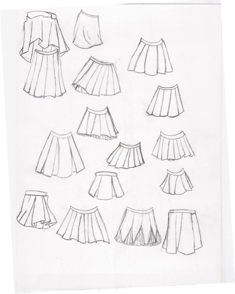 Skirts by kitsunelover100 on DeviantArt