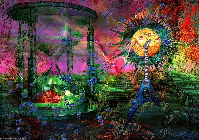 Psychedelic Ride By Fotomonta On Deviantart
